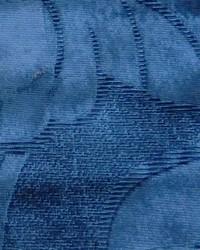 Blue Large Print Floral Fabric  Elegance E Floral Navy