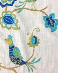 Bird Fabric  Ingrid Carribbean