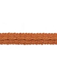 Orange Le Lin Trim Europatex Le Lin Braid Rust