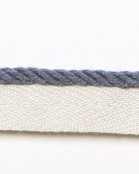 Blue Le Lin Trim Europatex Le Lin Micro Cord Blue