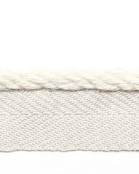 White Le Lin Trim Europatex Le Lin Micro Cord Cotton