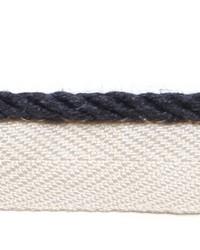 Blue Le Lin Trim Europatex Le Lin Micro Cord Navy