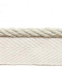 Grey Le Lin Trim Europatex Le Lin Micro Cord Pebble