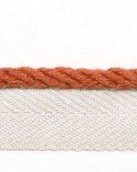 Orange Le Lin Trim Europatex Le Lin Micro Cord Rust