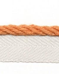Orange Le Lin Trim Europatex Le Lin Micro Cord Saffron