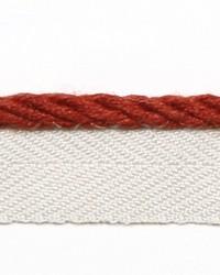 Red Le Lin Trim Europatex Le Lin Micro Cord Spice