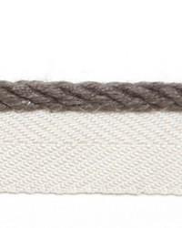 Grey Le Lin Trim Europatex Le Lin Micro Cord Steel