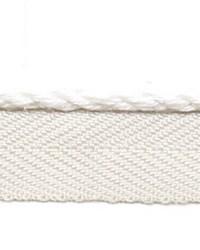 White Le Lin Trim Europatex Le Lin Micro Cord White