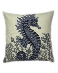 Seahorse Pillow by