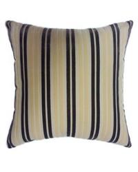 Stripe Pillow Beige Purple by