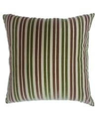 Stripe Pillow Khaki Green by