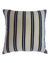 Stripe Pillow Navy White by
