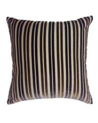 Stripe Pillow Purple Brown by