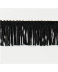 2in Chainette Fringe Black by