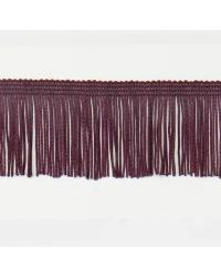 2in Chainette Fringe Eggplant by