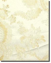 White Medium Print Floral Fabric  110860 1