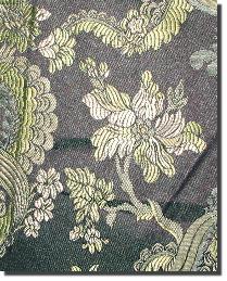 Brown Medium Print Floral Fabric  110860 10