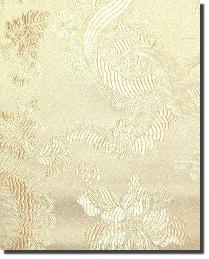 Beige Medium Print Floral Fabric  110860 2