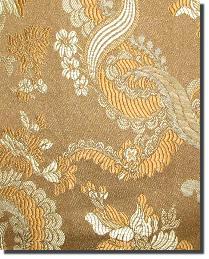 Brown Medium Print Floral Fabric  110860 5