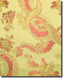 Yellow Medium Print Floral Fabric  110860 7