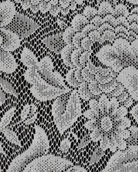 White Medium Print Floral Fabric  115628 WHITE