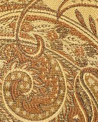 Classic Paisley Fabric  115800 Sienna