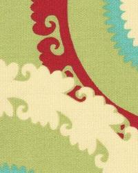 Green Suzani Fabric  118600 Guava