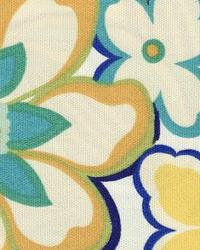 Yellow Modern Floral Designs Fabric  118630 Honeydew