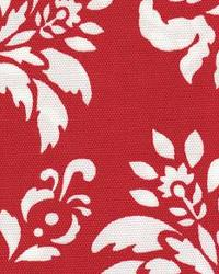 Red Large Print Floral Fabric  118695 Berry