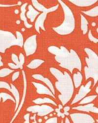 Orange Large Print Floral Fabric  118695 Tangerine