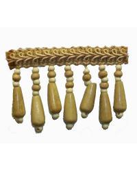 Fabricade Trim Fabricade Trim 202135 Driftwood - Gimp with Wood Beads