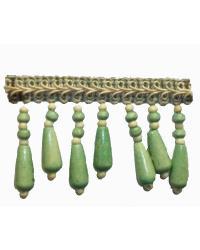 202135 Island - Gimp with Wood Beads by  Fabricade Trim