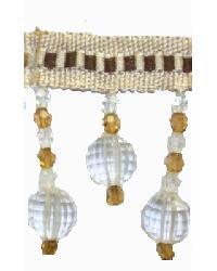 202145 Stucco - Braid with Acrylic Beads by  Fabricade Trim