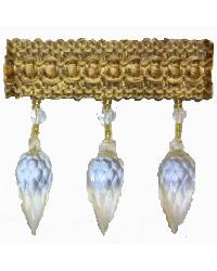 202155 Antique - Braid with Teardrop Bead by  Fabricade Trim