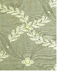 Grey Floral Diamond Fabric  Souvenir Mochamint
