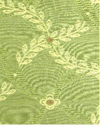 Green Floral Diamond Fabric  Souvenir Olivegrove