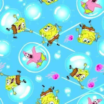 Foust Textiles Inc Spongebob Bubbles  Search Results