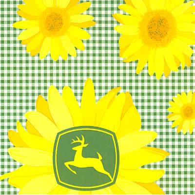 Foust Textiles Inc John Deere Sunflowers Cotton  Search Results