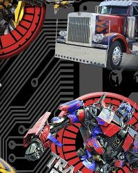 Transformers Air Filters Cotton Print by