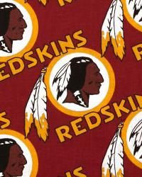 Washington Redskins Cotton Print by