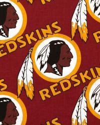 Washington Redskins Cotton Print by