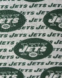 New York Jets Cotton Print by