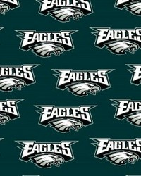 Philadelphia Eagles Cotton Print by