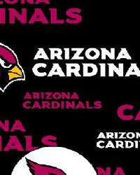 Arizona Cardinals Cotton Print by