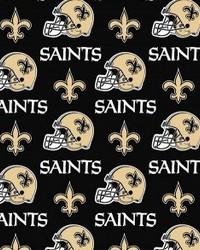 New Orleans Saints Cotton Print by