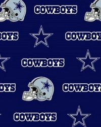 Dallas Cowboys Cotton Print by