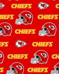 Kansas City Chiefs Cotton Print by