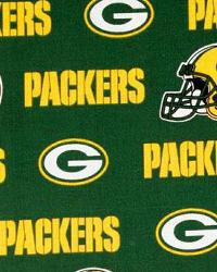 Green Bay Packers Cotton Print by
