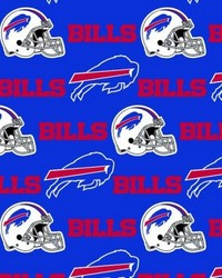 Buffalo Bills Cotton Print by