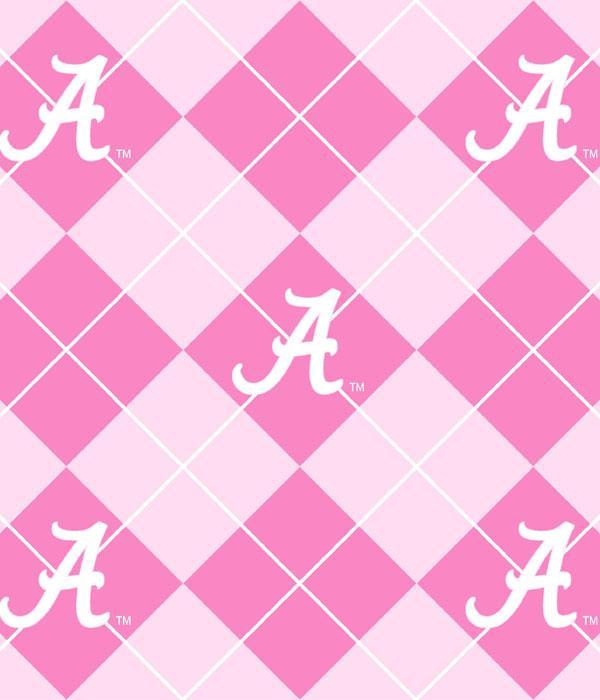 Foust Textiles Inc Fabrics Pink Alabama Crimson Tide Argyle Fleece Search Results